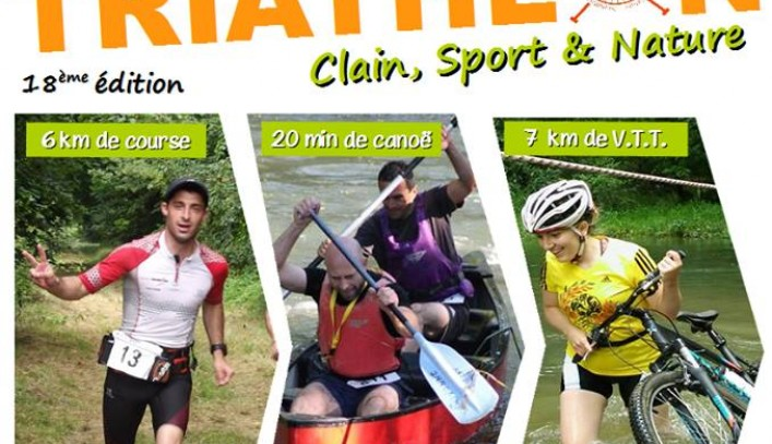 "Triathlon ""Clain, Sport et Nature""."