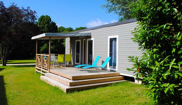 Mobile homes - Camping La Roche-Posay Vacances