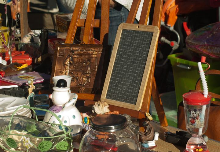 Brocante spectacle.