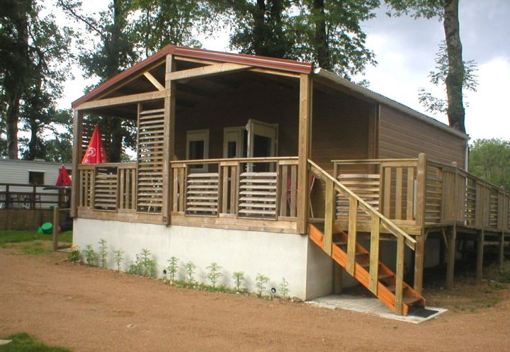Chalets et mobile-homes du Parc